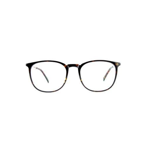 YEM Blaulichtfilter Brille mit neutralen Brillengläsern für Computer, Smartphones und Fernsehbildschirme. | 2017 Kollektion | Pascal (Braune Schildpatt Optik)