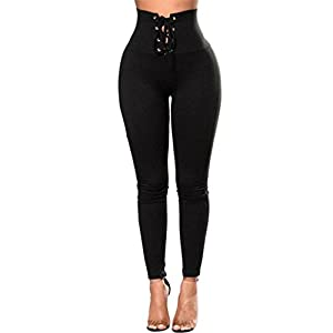 Damen Leggings Ronamick Frauen Sport YOGA Workout Gym Fitness Leggings Hosen Overall Sportbekleidung