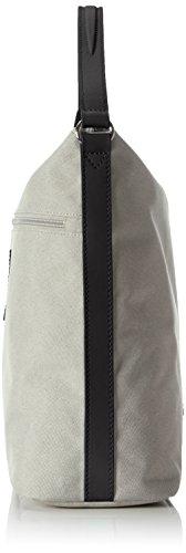 BREE Damen Limoges 5 S17 Schultertasche, Einheitsgröße Mehrfarbig (light Grey/black)