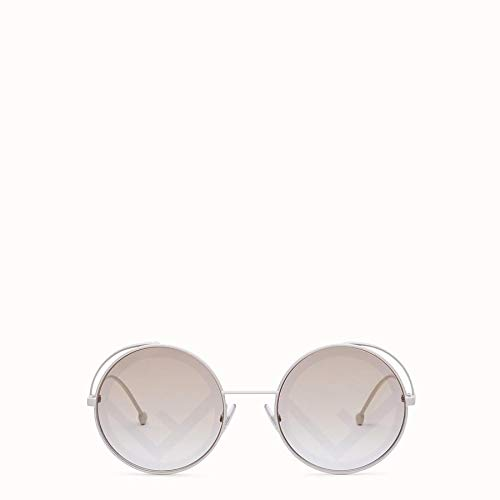 Fendi Sonnenbrillen FENDIRAMA FF 0343/S White/Grey Damenbrillen
