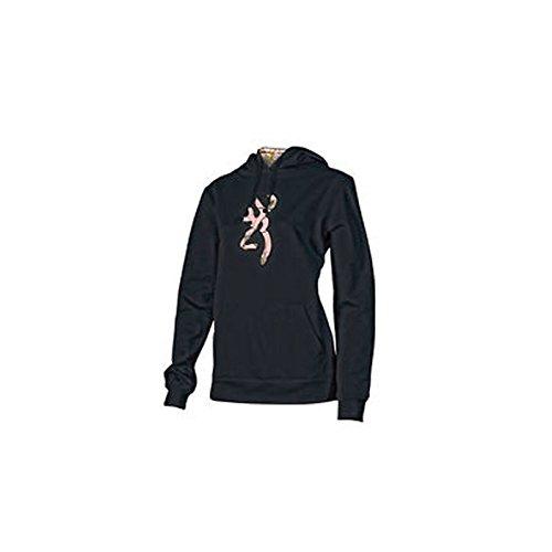 Damen Browning Camo Buckmark Kapuzen Sweatshirt Größe L weiß Browning-camo Sweatshirt