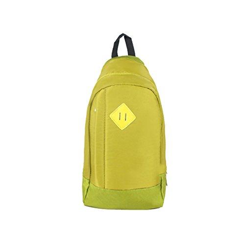 Yy.f Nuovo Pacchetto Della Cassa M Zaino Multifunzionale Zaino Sport Zainetto Di Sesso Maschile Multicolore Yellow