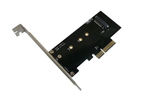 Kalea Informatique–Tarjeta controladora PCIe de 4 puertospara SSD M.2PCIe de tipo Samsung...