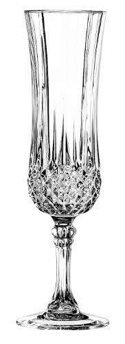 Cristal d´Arques, Longchamp Sektkelch 140ml, ohne Füllstrich, 6 Stück