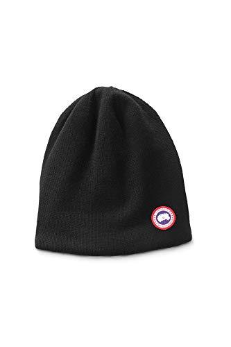 Canada Goose Bonnet, modèle en jersey de laine noire