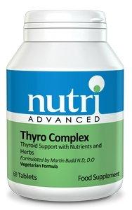Nutri Advanced Thyro Complex - 120 tablets for Thyroid Support
