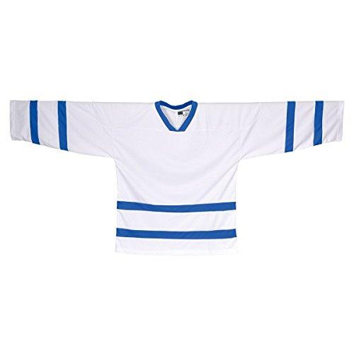 Sher Wood SWD Trikot Jersey NHL Style Toronto weiß (L)