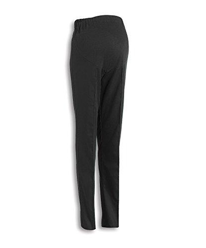 Alexandra stc-fm2290002-06L maternità pantaloni, lunga, a quadretti, 67% poliestere/33% cotone, dimensioni: 6, nero