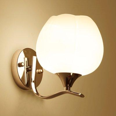 YYHAOGE Lampe Nachttischlampe Schlafzimmer Wohnzimmer Treppen Gang Lights Hotel Lampen Led, Lavendel Lotus (Lavendel Lampe Kinderzimmer)