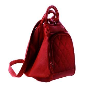 Deal Especial 3 way use- as a backpack or a shoulder sling bucket bag big size Stylish designer Women's cherry handbag 136E