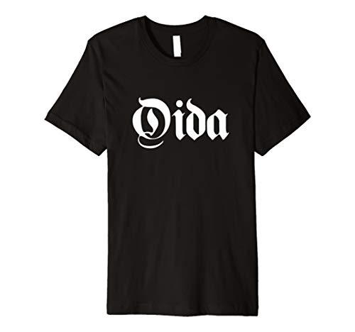 Lustiges Oida Meme T-Shirt   Wort aus Bayern und Österreich