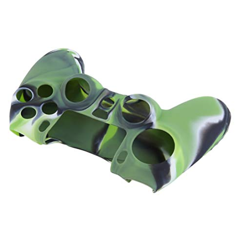 WEIHAN Bunte Tarnung schützende weiche Silikonhülle Skin Grip Gummiabdeckung für Play Station 4 für PS 4 Controller 17cm x 11cm -