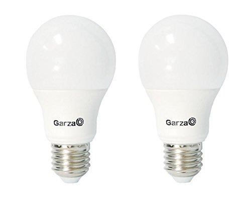 Garza Lighting - Pack ahorro de 2 bombillas LED estándar de 6...
