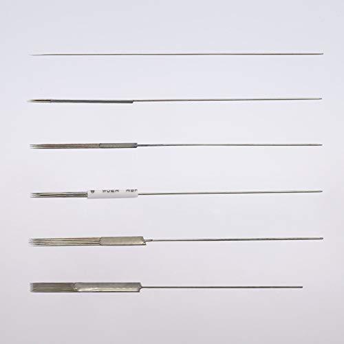 Permanent Maquillage Maquillage Maquillage Aiguilles Traditionnel 1R 3R 5R 3F 5F 7F 10-100 - 3F, 50