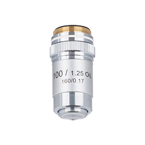 amscope A100X -v300100x (Öl) Achromatisches Mikroskop Objektiv für Compound Mikroskope
