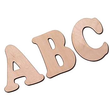 7cm DIY Buchstabenrohling I Holzbuchstaben zum bemalen I Als Wunschname individualisierbar I Tolle Holzmotive zubuchbar…