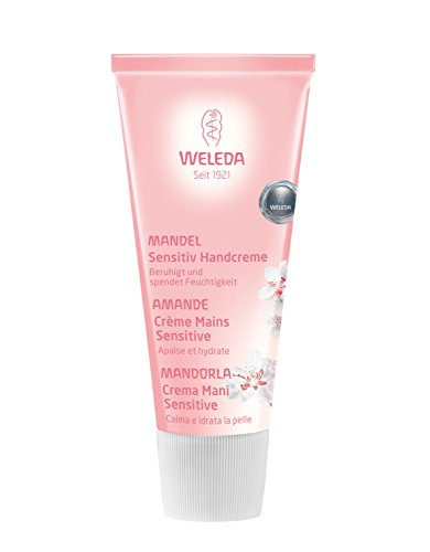 Weleda babyshampoo Mandel Sensitive Creme Hände