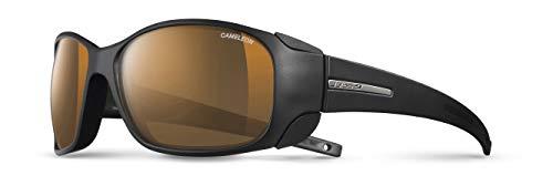 Julbo Skigebiet Monterosa Cameleon Sonnenbrille photochromiques Damen, Schwarz Matt/Schwarz
