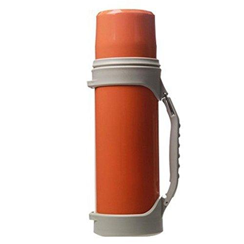 DONG Edelstahl outdoor/Reise/Auto/Portable / / Vakuum/Bulk/Männer/1200 ML , orange , 1.2l
