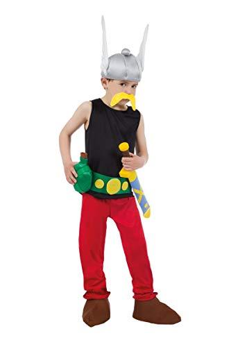 Kind Asterix Kostüm - Chaks-cs805301/128-Kostüm-Kostüm Lizenz Asterix 9-teilig, 128cm