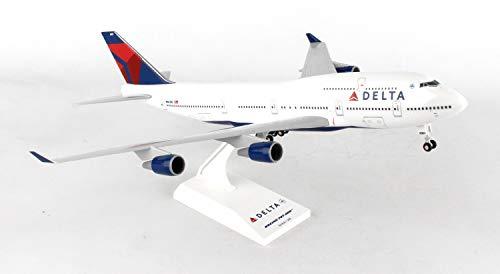 Daron Skymarks Delta 747-400Flugzeug Modellbau Kit mit Gear, 1/200-scale -