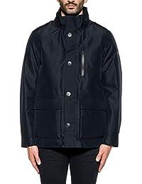 Woolrich Herren WOCPS2686GO013333 Blau Polyester Jacke