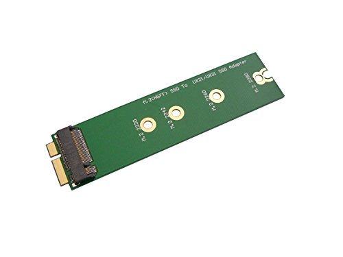 .2-Adapter (M2 NGFF B-Kerbung SATA) für Asus Zenbook UX21 UX31 UX51 - für die Montage einer M.2-SSD anstelle der Original-SSD ()