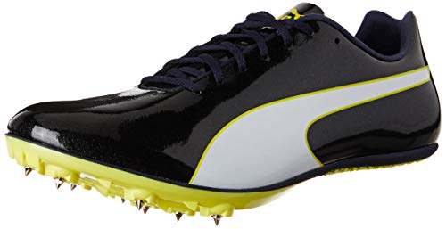 341f76b6e Puma Evospeed Sprint 9, Zapatillas de Atletismo Unisex Adults'o, Negro Black -