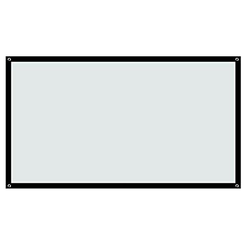 Build Excellent 60 Zoll Beamer Leinwand Tragbar 16:9 Projektionsleinwand