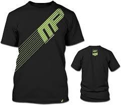 Sport Lines-Maglietta, colore: nero, da MusclePharm Sportwear M - 31lQ3oiE54L