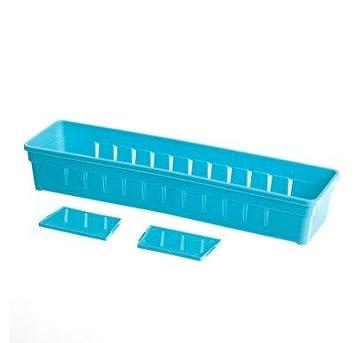 Innovativ Kunststoff, rechteckig, Aufbewahrungsbox ohne Deckel Boxen mit  WK19