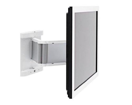 SMS PL101117 TV Halterung, Metall, weiß, 15,4 x 80 x 42,5 cm