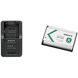 Sony BC-TRX Multi-Chargeur & NP-BX1 Batterie Rechargeable Série X pour Appareil Compact Cybershot