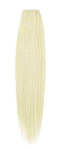 American Dream de qualité Platinum 100% cheveux humains Extensions capillaires 61 cm couleur 60 – Blond Pur