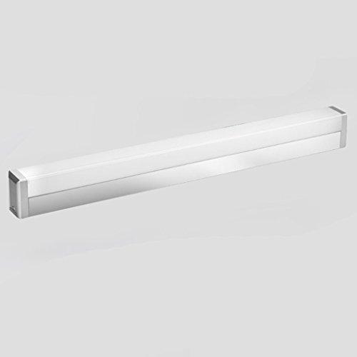 LCK Luz del espejo del baño, Espejo LED Luz delantera Espejo Luz delantera, Instalación de aluminio...