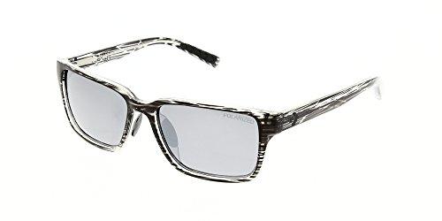 Converse Sunglasses R006 Grey Stripe Mirror Polarised 57
