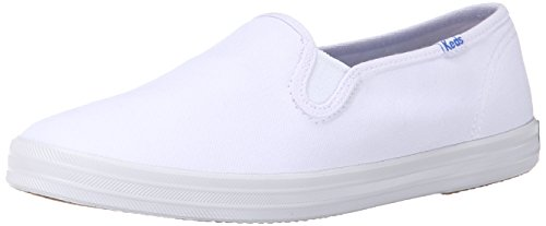 Keds Champion Slip On WF23240, Damen, Slipper, Weiss (white canvas), EU 38 Keds Slip On Sneakers