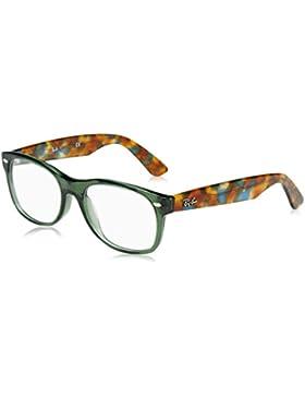 Ray-Ban New Wayfarer, Monturas de Gafas Unisex-Adulto, Opal Green, 54