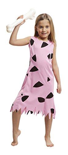Imagen de my other me  disfraz de troglodita para niña, 10 12 años, color rosa viving costumes 203517
