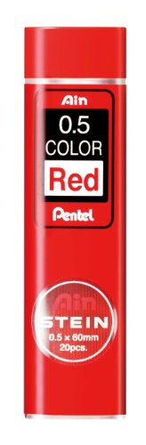 05-red-core-core-pietra-10-packs-c275-hbo-rd-and-replacement-pentel-ain-japan-import