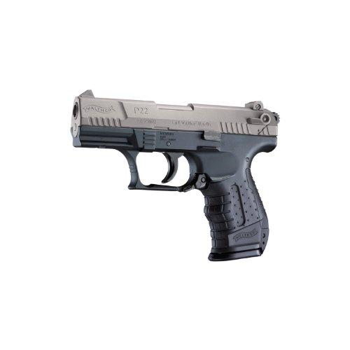 Softair Pistole Walther P22 Federdruck inkl. Ersatzmagazin in Schwarz oder Bicolor