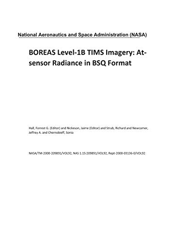 BOREAS Level-1B TIMS Imagery: At-sensor Radiance in BSQ Format - Format-sensor