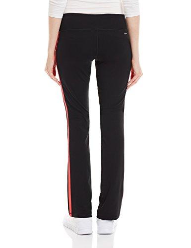 Adidas Basic 3S Pantalon femme, femme, Basic 3S Noir/gris - Black/Red/Black/ROJIMP