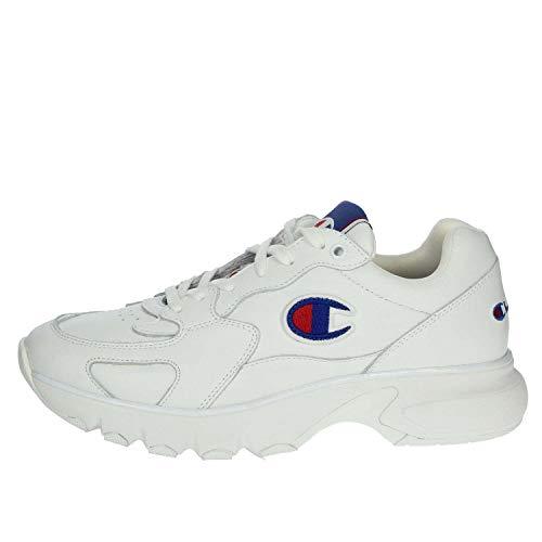 Champion CWA-1 Leather Low Cut Shoe Men wht/wht, Größe:41 - Champion Sportschuhe