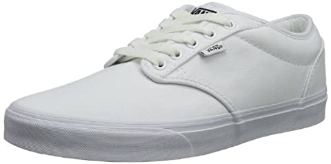 Vans Atwood, Men's Low-Top Sneakers, White (Canvas - White/White), 12 UK