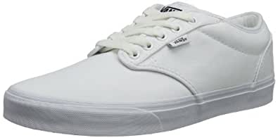 Vans Atwood, Men's Low-Top Sneakers, White (Canvas - White/White), 5.5 UK