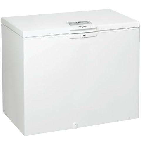 Congelateur Coffre Classe A+ - Whirlpool WHE22333 Autonome Coffre 216L A+++ Blanc