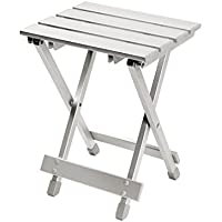 Bo-Camp Mobilier de camping BC Tabouret/Table alu 30x25x40cm Grey