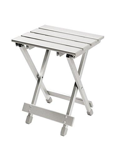 Bo-Camp Hocker/Tablet zusammenklappbar grau 30x 25x 40cm -