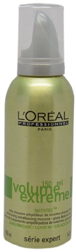 Loreal Serie Expert Volume Extreme Mousse for Volume to fine Hair 5.07 oz 150ml by L'Oreal Paris -